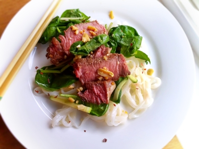 Vietnamese Steak and Noodle Salad